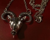 Goat head necklace
