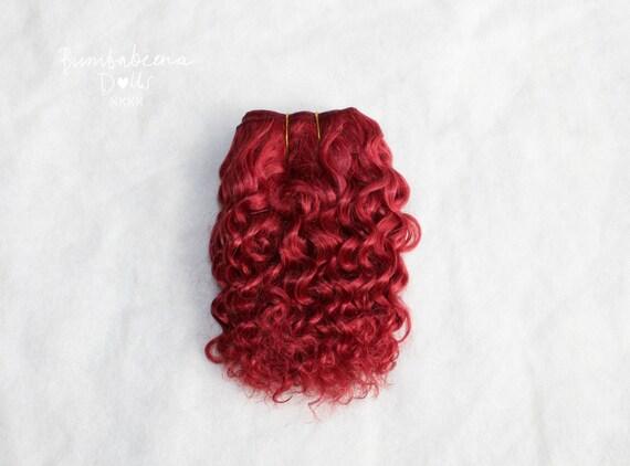 Mohair Weft Doll Hair 30