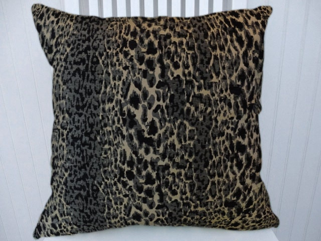 Velvet Animal Print Pillows : Velvet Animal Print Pillow Cover-Leopard Print Decorative