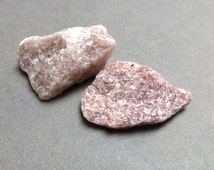 Raw Aventurine. Pink. Raw Stone. Gemstone Undrilled. Wire Wrapping Stone. Lapidary. 30mm - 35mm. One (1)