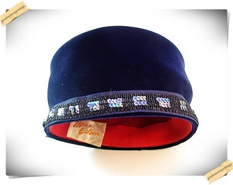 Miss Eileen Velvet Hat