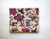 Balinese Batik Bag, Clutch Textile Bag