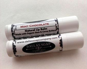 Mint Chocolate Lip Balm - Gluten Free
