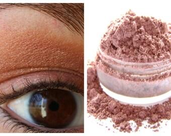 Mineral Eyeshadow - Metallic Rose Eyeshadow - Pink Shadow - Metallic Rose Eyeliner - Vegan Shadow / Vegan Makeup