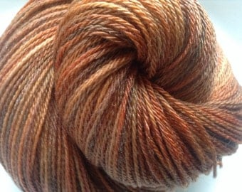 Vermont -  Crystal Fingering Weight - Hearthside Fibers Hand Dyed