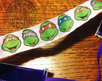 NOODLE HUGGER Non slip ribbon headband - Teenage Mutant Ninja Turtles - 7/8 inch (running, working out, everyday: women and girls)