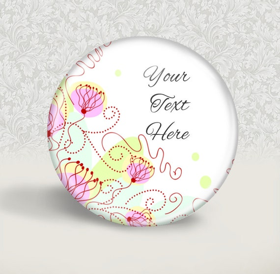 Floral Wedding favor --20 personalised wedding favors - Pink Floral