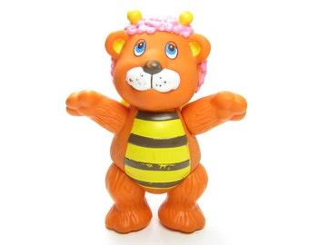 Bumblelion Wuzzles Toy Vintage Disney Poseable Action Figure - Bumblebee & Lion Hybrid Animal
