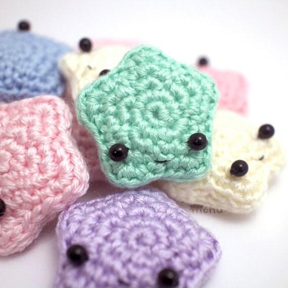 Amigurumi Crochet Star : amigurumi star plush crochet stuffed toy star by mohustore