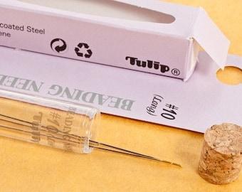 Tulip Beading Needles Size 10 Japanese Premium Beading Needle Size 10 Strong Flexible Durable Beading Needle