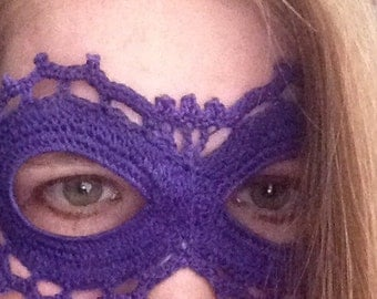 Lace Masquerade Mask - Purple and many more!