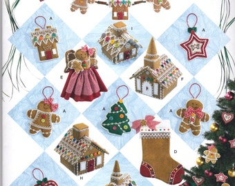 New SIMPLICITY CRAFT Pattern #2545 Holiday Crafts New UNcut