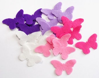 Felt butterfly, felt shapes, felt die cut, Die Cut Felt Shapes, Felt butterfly shapes, felt supplies, scrap supplies, felt, felt applique