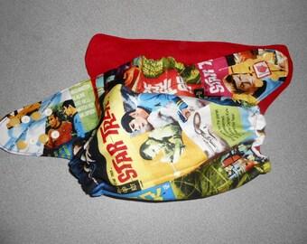 Full One Size Star Trek Comics Pocket Diaper