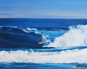 One Sweet Ride - Surf Art - Beach/Ocean Painting