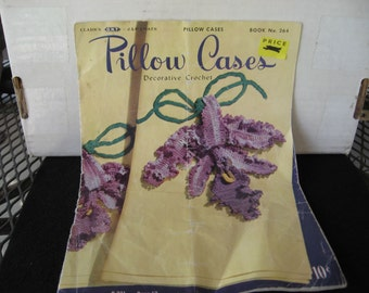 Pillow Case decor edging  1950 book 264