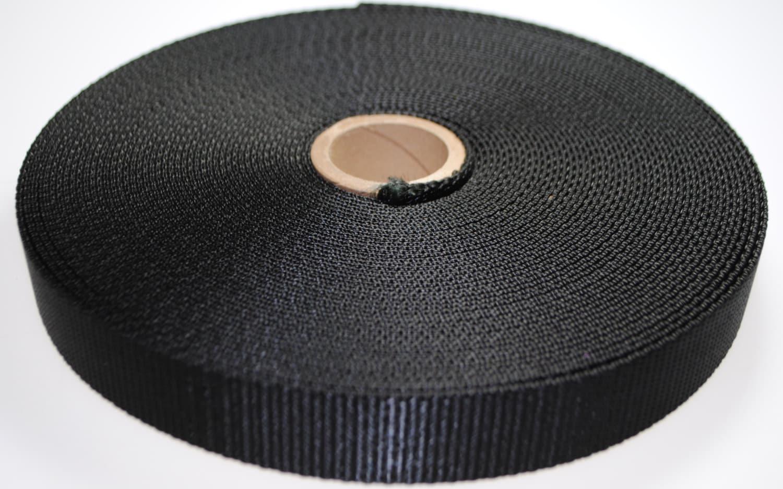 Black Nylon Heavy 8