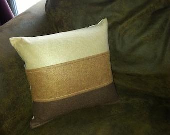 EASTER SALE...Neutral felt Pillow COVERS