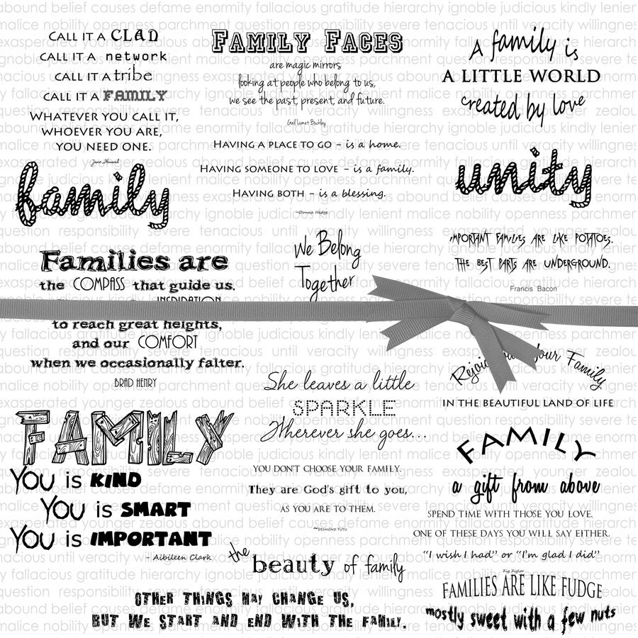 Motivational Quotes About Family: Inspirational Quotes Family Quotes Printable Quotes About