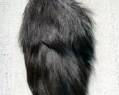 Fur Scraps Russian Silver Fox Short Fur Tail 92 Arctic Store® Arktika Russia