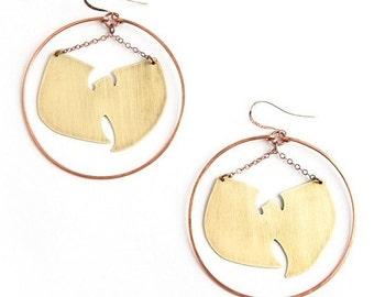 Wu-Tang Forever Big Hoop Earrings