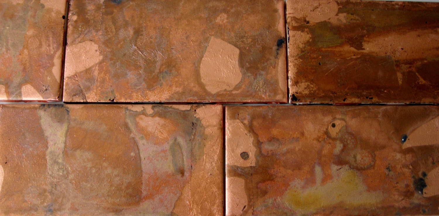 Copper Ceramic Tiles