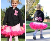 Personalized sweatshirt with monogram Baby or Toddler Hoodie with Star and name for girls