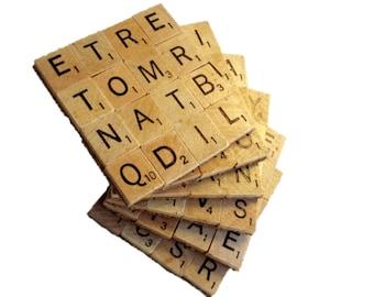 Scrabble Coasters Set of 6