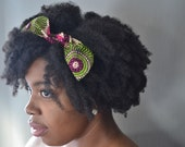 African Waxprint Hair Bows