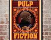 Pulp Fiction: The Boss Man Marsellus Wallace Movie Poster