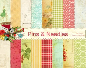 Pins and Needles Paper Set