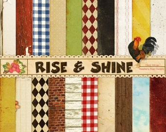 Rise and Shine Paper Set