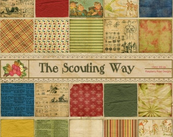 The Scouting Way Paper Set