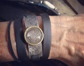 Sterling and athena coin wrap strap