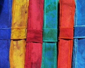 Silk Ribbon, Silk Trim, 20 Yards, 10 colours. A58