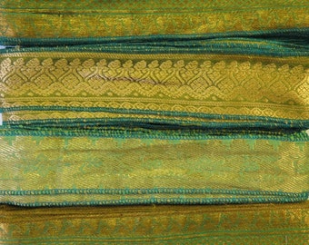 Gold Brocade Sari borders, SR191