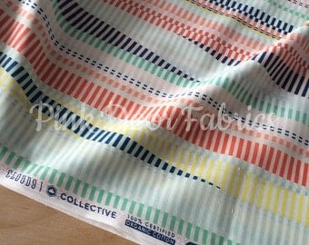 Let's Have a Party VOILE - Rave On in Multi - Avril Loreti for Cloud 9 - Organic Cotton - LET 131133 - 1/2 Yard