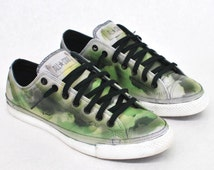 Freestyle Camo Low Top Converse Chuck Taylor All Star - Painted Sneakers