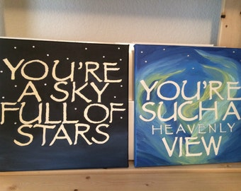 Sky Full Of Stars/Such A Heavenly View -2 Pieces