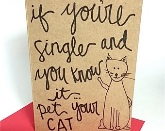 Popular items for anti valentine card on Etsy