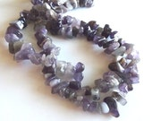 "Amethyst Chip Beads, Large Chips - 15"" Strand"