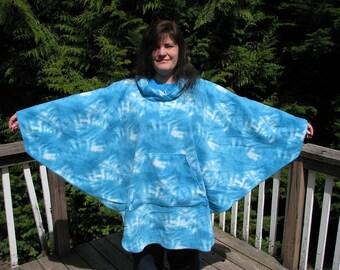 Hooded Poncho, hooded Fleece poncho, Tie Dye Fleece, Mens poncho, Womens poncho, kids poncho, hippie poncho, hippie hoodie, drug rug
