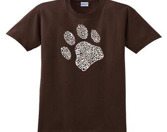 Men's T-shirt - Dog Paw