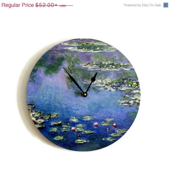 Clock Sale Unique Wall Clock Home And Living Monet By