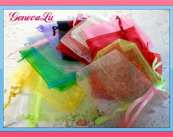 30 Organza Bags for packaging your fine merchandise