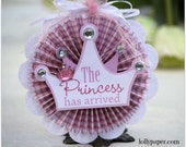 The Princess Has Arrived - Gift Tag