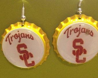USC Trojans Earrings