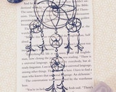 "Dreamcatcher Sketch on a page from ""The Alchemist"""