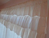 Custom Ruffled Curtain Set