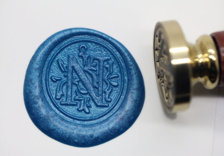 letter wax seal s1156 alphabet letter n wax seal stamp sealing 23296